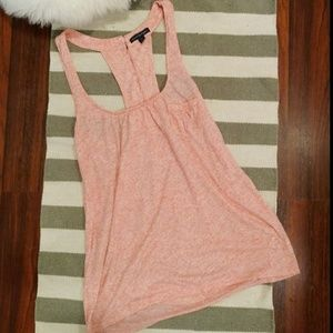 NWOT American Eagle Racer Back Coral Tank Top
